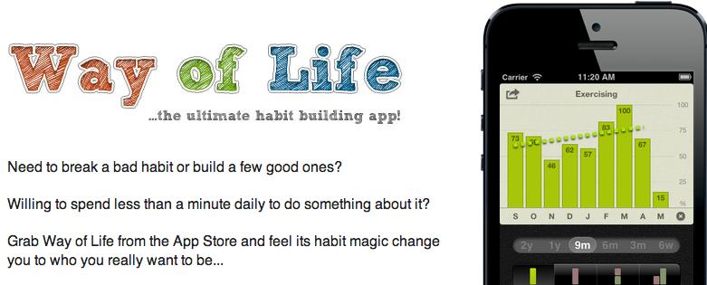 Way of Life app