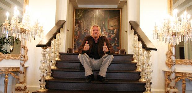 Richard Branson morning