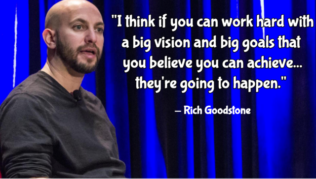 Rich Goodstone quote (Photo credit: BerkleeICE Series: Rich Goodstone and the Good Stuff of Bonnaroo)