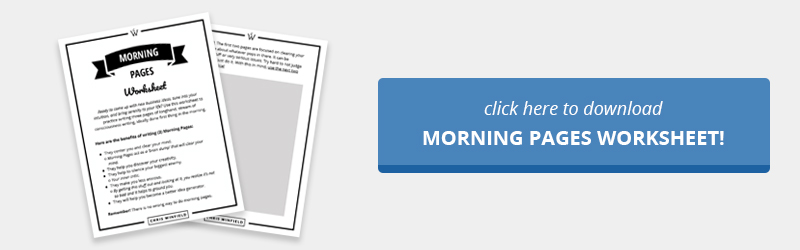 Morning Pages - A Clearer Mind, Better Ideas & Less Anxiety