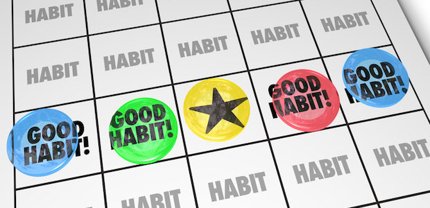 Stacking habits