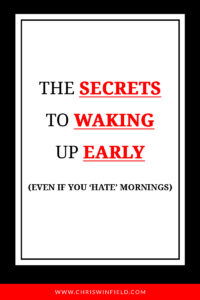 waking-up-early-secrets